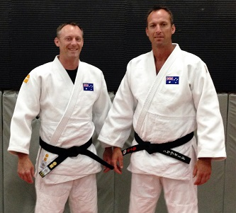 Jim and Steve Clifford - Judo Black Belts