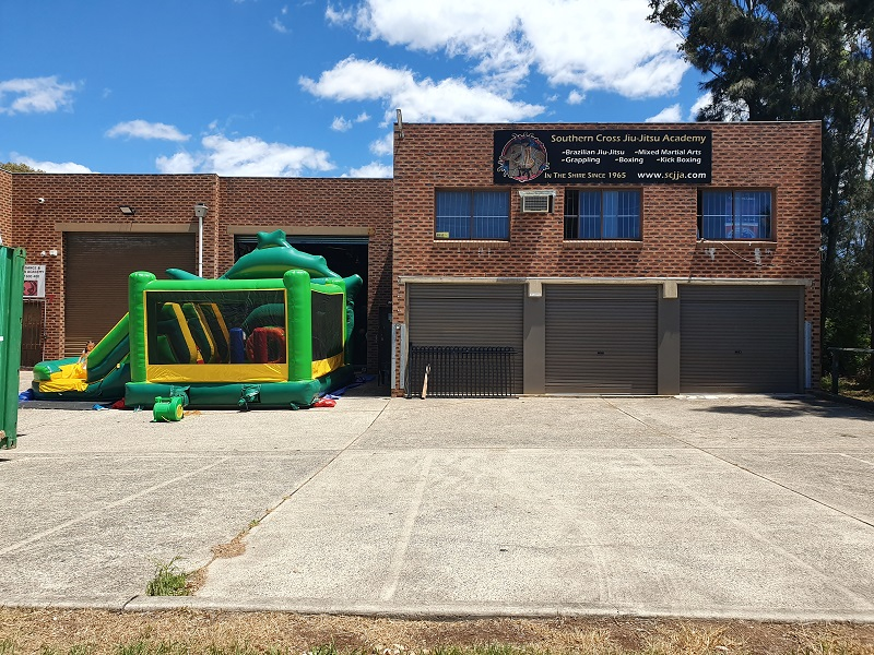 a kids jumping castle can be rented