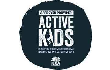 Active Kids Vouchers Accepted